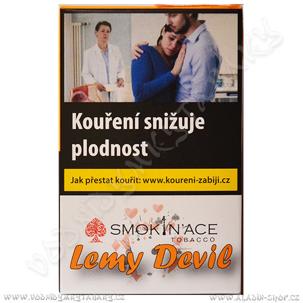 Tabák Smokin´Ace Lemy Devil 50 g