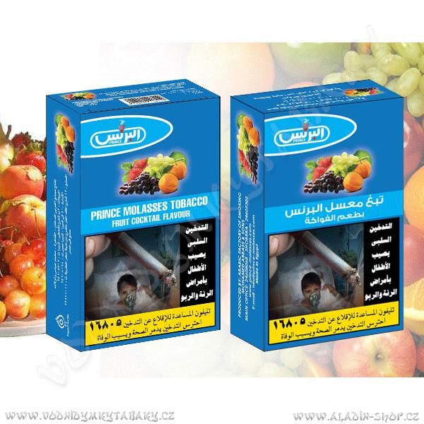 Tabák do vodní dýmky Ovocná směs Prince 50 g