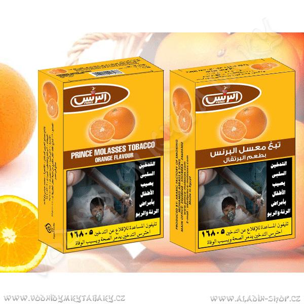 Tabák do vodní dýmky Pomeranč Prince 50 g