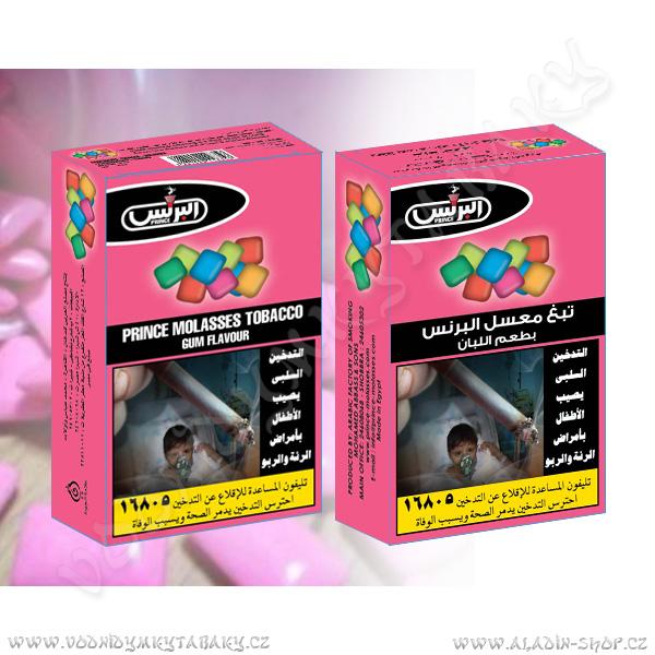 Tabák do vodní dýmky Žvýkačka Prince 50 g