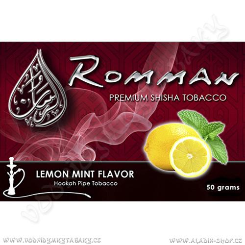 Tabák do vodní dýmky Citron s mátou Romman 50 g