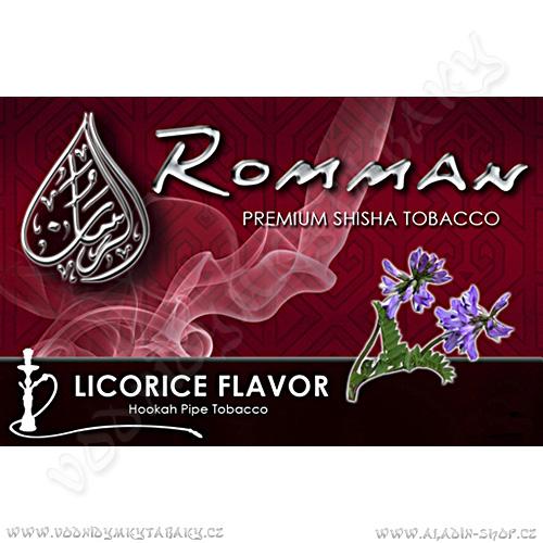 Tabák do vodní dýmky Lékořice Romman 40 g