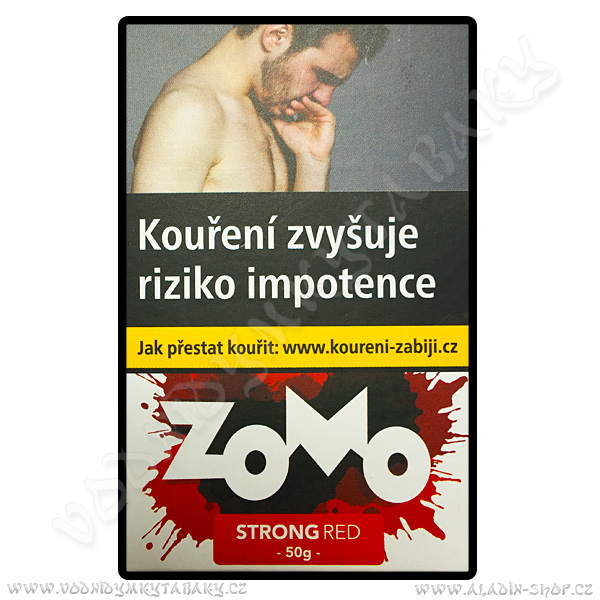 Tabák Zomo Strong Red 50 g