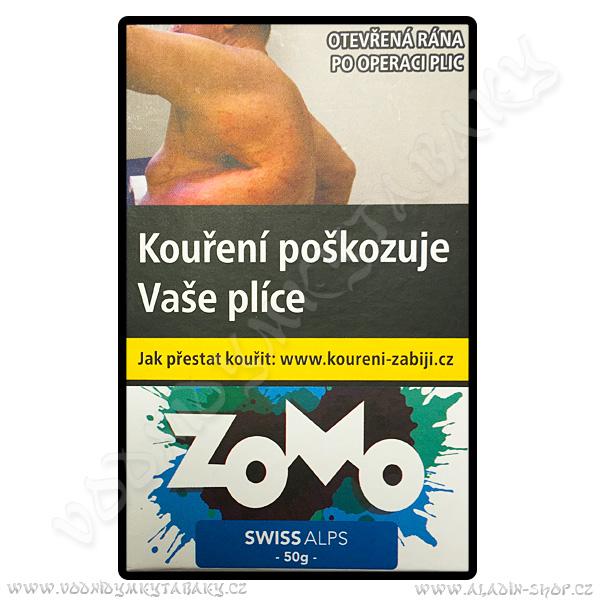 Tabák Zomo Swiss Alps 50 g