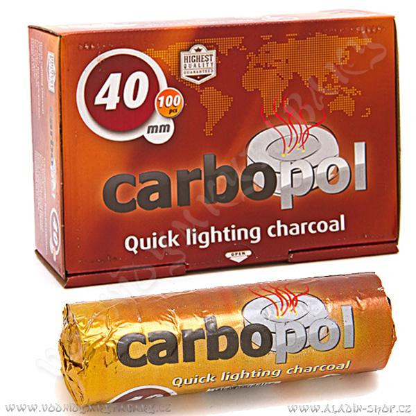 Uhlíky do vodní dýmky Carbopol 40 mm