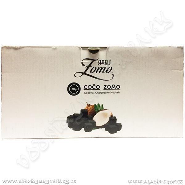Uhlíky do vodní dýmky Zomo 2 kg