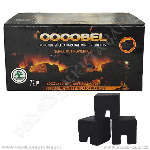 Uhlíky do vodní dýmky Cocobel Airflow 72 ks