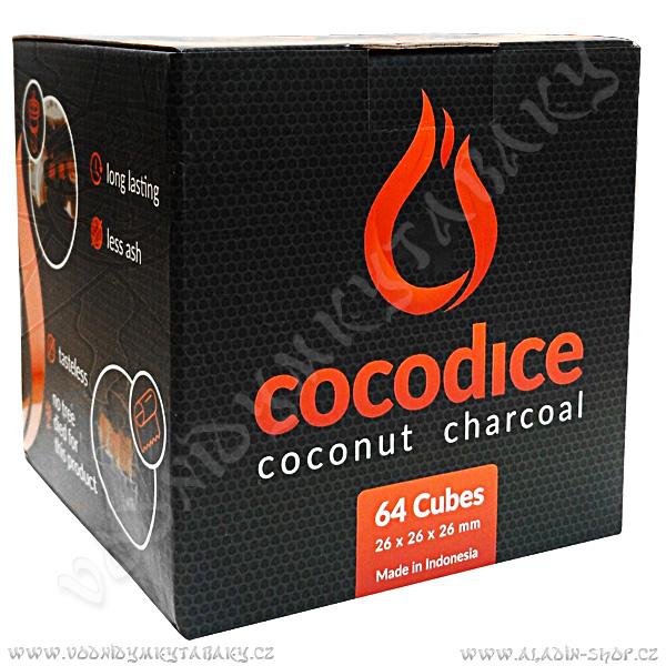 Uhlíky do vodní dýmky Cocodice C26 1 kg