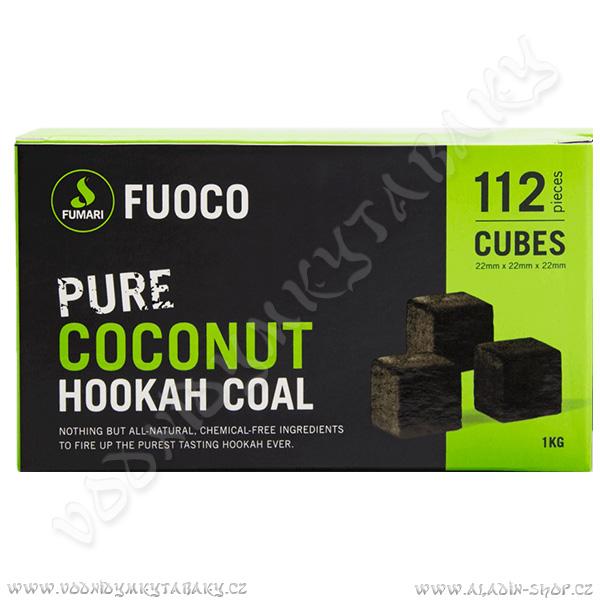 Uhlíky do vodní dýmky Fuoco 1 kg