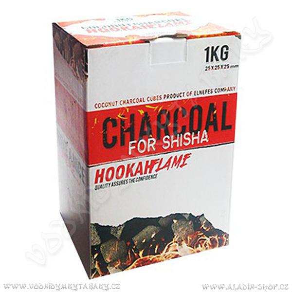 Uhlíky do vodní dýmky Hookah Flame 1 Kg