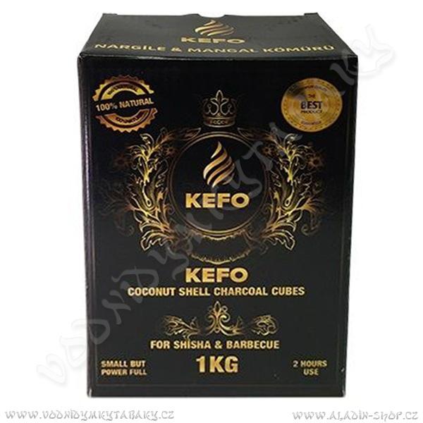 Uhlíky do vodní dýmky Kefo 1 Kg