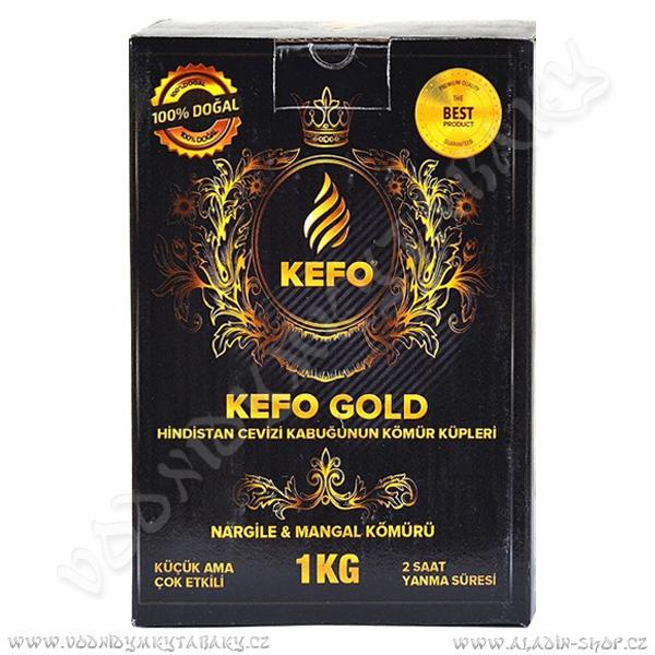 Uhlíky do vodní dýmky Kefo Gold 1 Kg