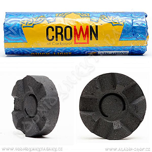 Uhlíky pro vodní dýmky Carbopol Crown