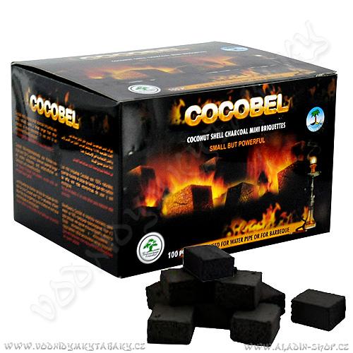 Uhlíky do vodní dýmky Cocobel 100 ks