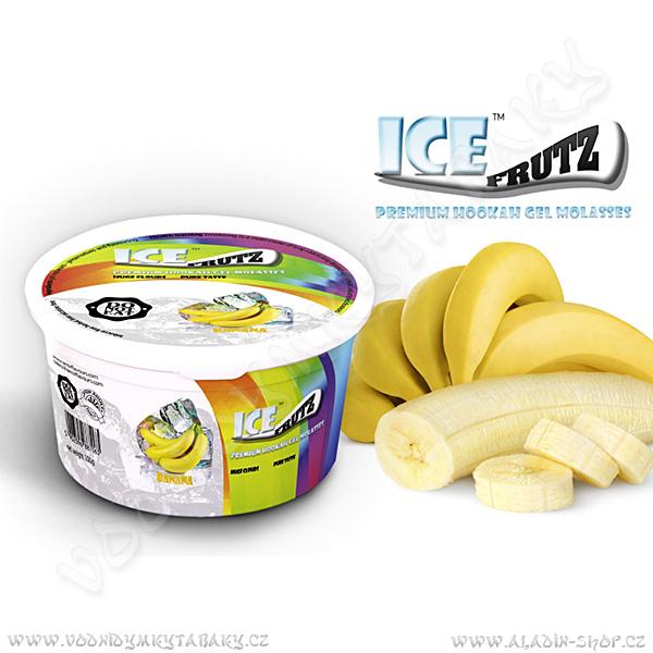 Ice Frutz vaporizační gel Banán 100 g