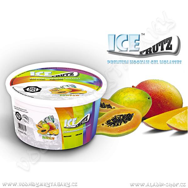 Ice Frutz vaporizační gel Papája 100 g