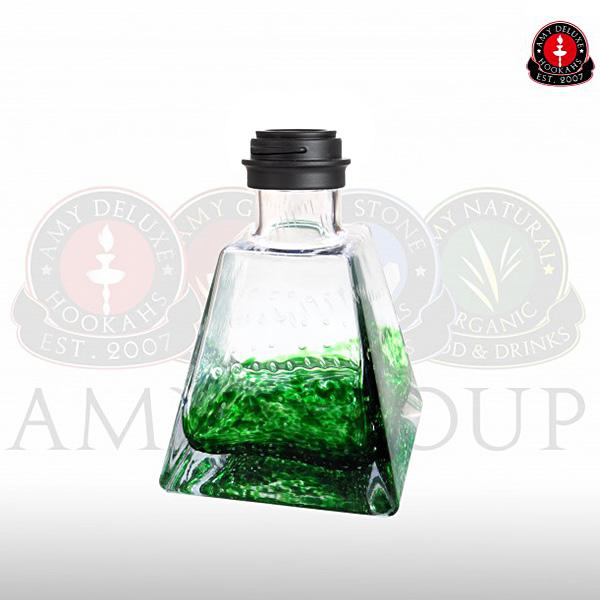 Váza Amy I Need You Klick I green - black powder
