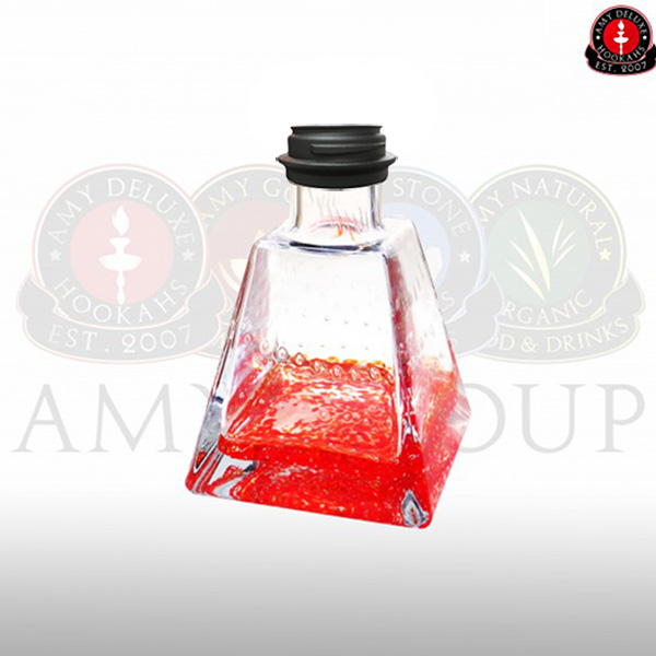 Váza Amy I Need You Klick II red - black powder