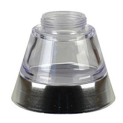 Váza k vodní dýmce King Hookah Espresso stříbrná