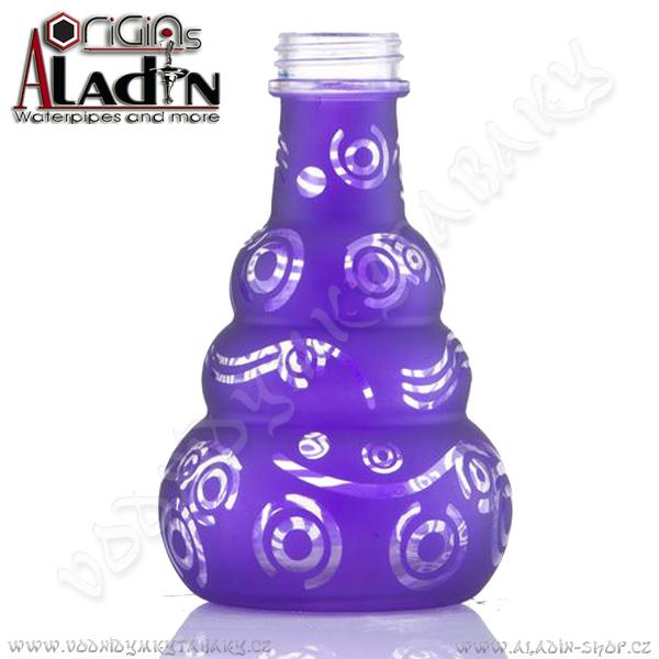 Váza pro vodní dýmky Aladin Saigon 24 cm fialová