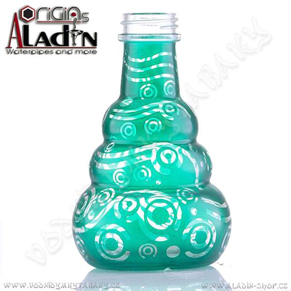 Váza pro vodní dýmky Aladin Saigon 24 cm zelená