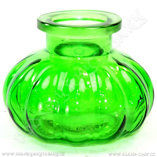 Váza k vodní dýmkce Pumpkin zelená