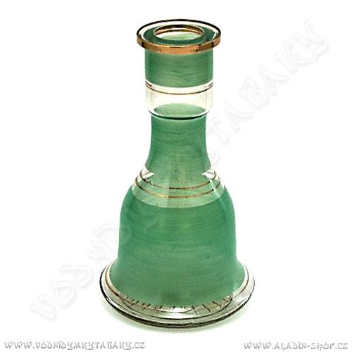 Váza pro vodní dýmky Top Mark 26 cm Heket zelená