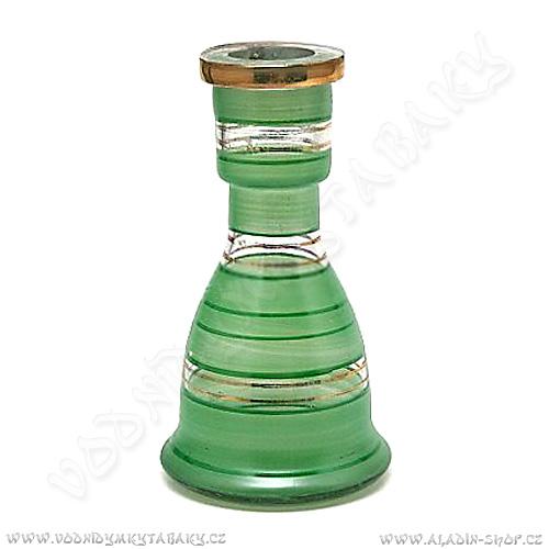 Váza pro vodní dýmky Top Mark 19 cm Eset zelená