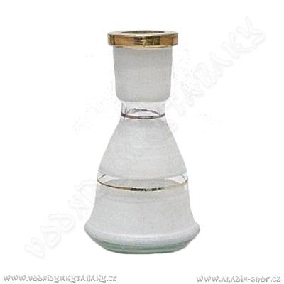 Váza pro vodní dýmky Top Mark 19 cm Eset bílá