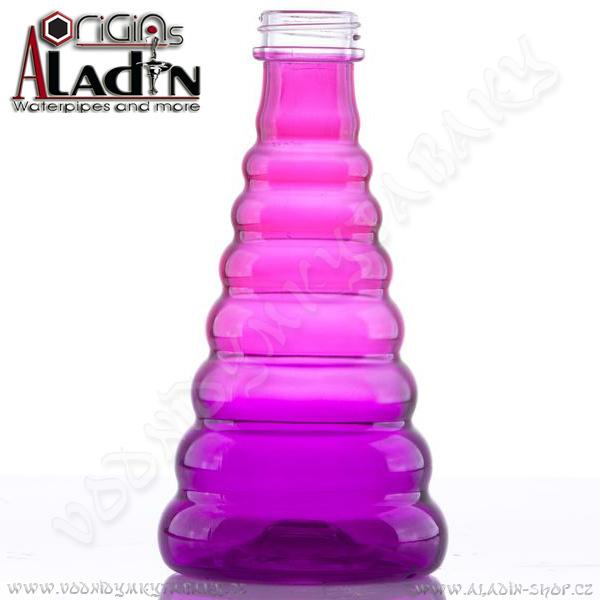 Váza pro vodní dýmky Aladin New York 30 cm fialová