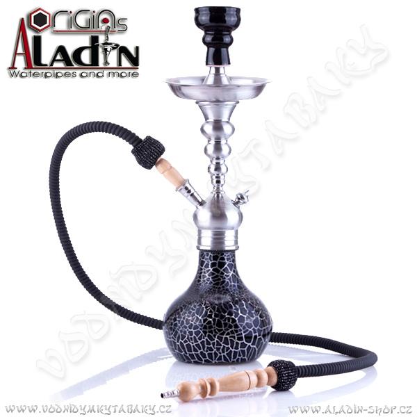 Vodní dýmka Aladin Berlin II 50 cm černá