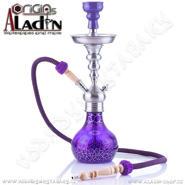 Vodní dýmka Aladin Berlin II 50 cm fialová