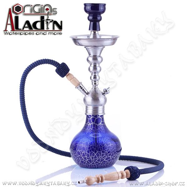 Vodní dýmka Aladin Berlin II 50 cm modrá