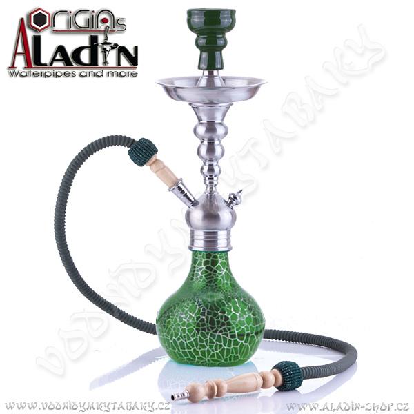 Vodní dýmka Aladin Berlin II 50 cm zelená