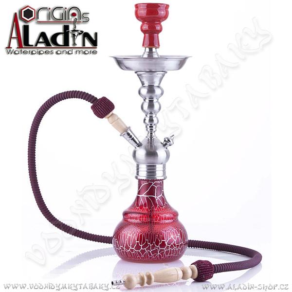 Vodní dýmka Aladin Berlin 50 cm červená