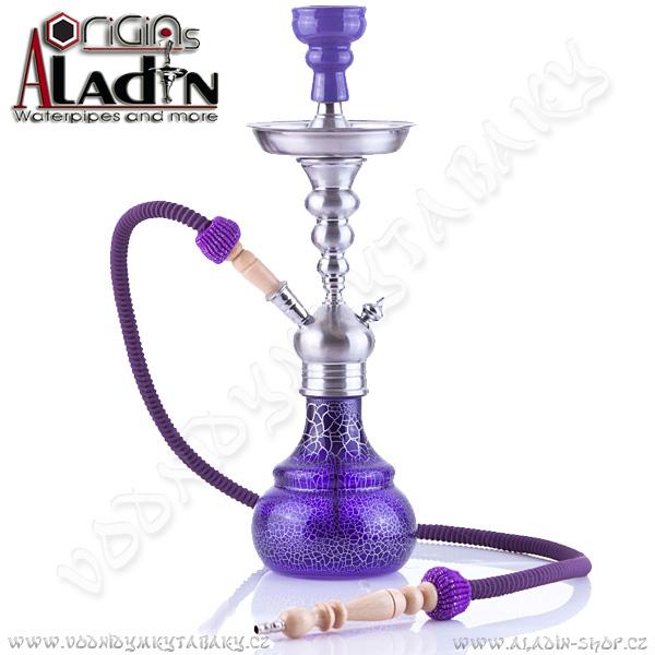 Vodní dýmka Aladin Berlin 50 cm fialová