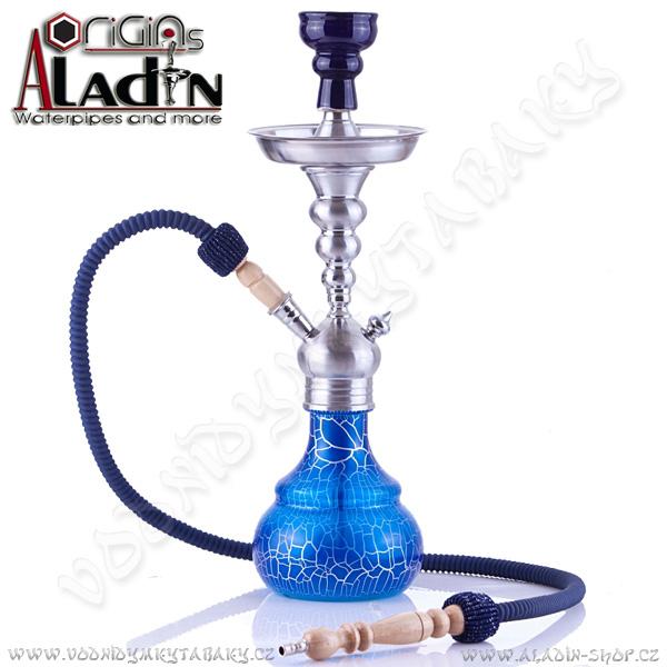 Vodní dýmka Aladin Berlin 50 cm modrá