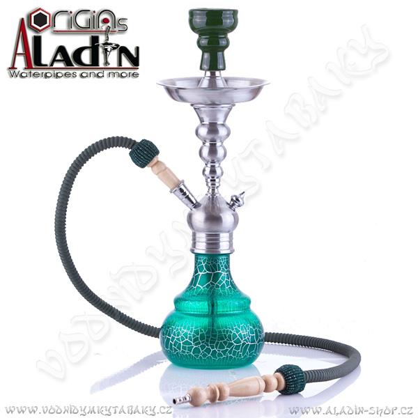 Vodní dýmka Aladin Berlin 50 cm zelená