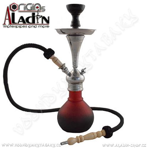 Vodní dýmka Aladin Bogota II 48 cm červená