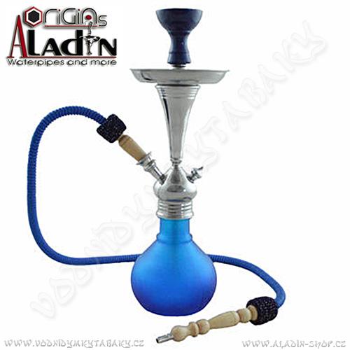 Vodní dýmka Aladin Bogota II 48 cm modrá