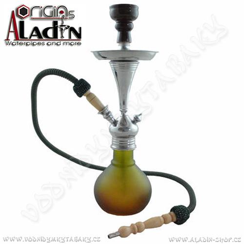Vodní dýmka Aladin Bogota II 48 cm zelená