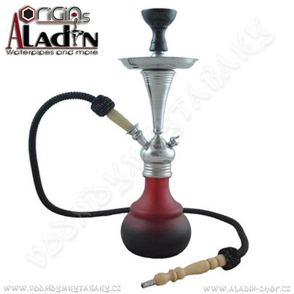 Vodní dýmka Aladin Bogota III 48 cm červená