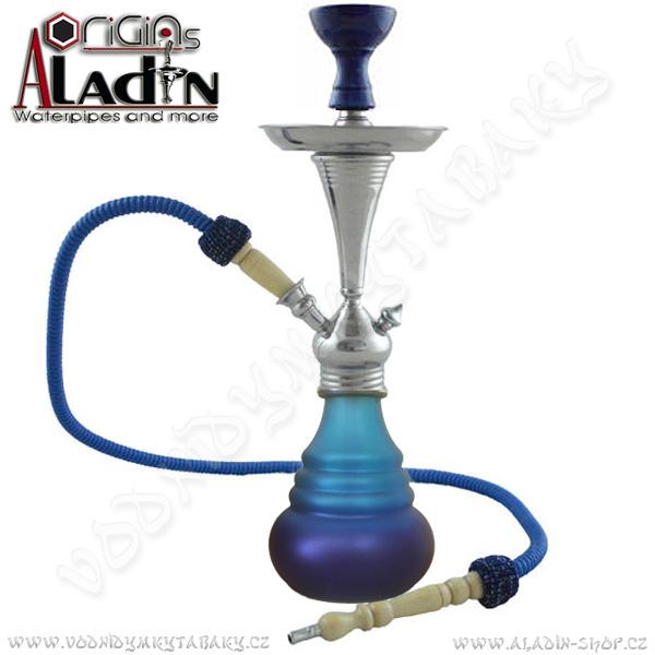 Vodní dýmka Aladin Bogota IV 48 cm modrá