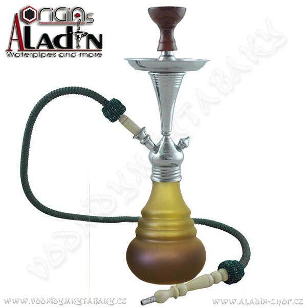 Vodní dýmka Aladin Bogota IV 48 cm zelená