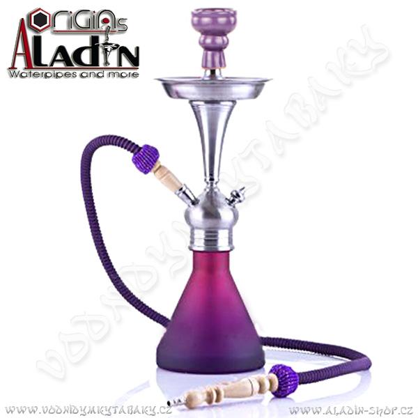 Vodní dýmka Aladin Bogota 48 cm fialová