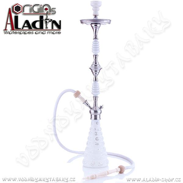 Vodní dýmka Aladin Dhaka 96 cm bílá