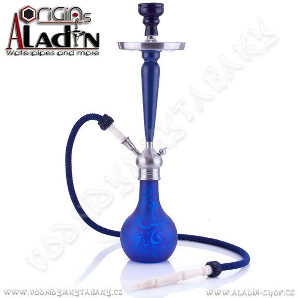 Vodní dýmka Aladin Karachi 67 cm modro-tyrkysová