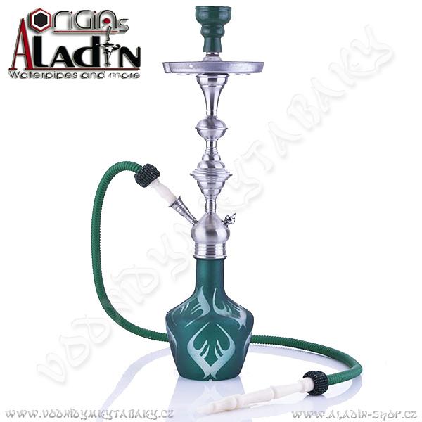 Vodní dýmka Aladin Macao 66 cm zelená