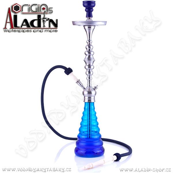 Vodní dýmka Aladin New York 77 cm modrá
