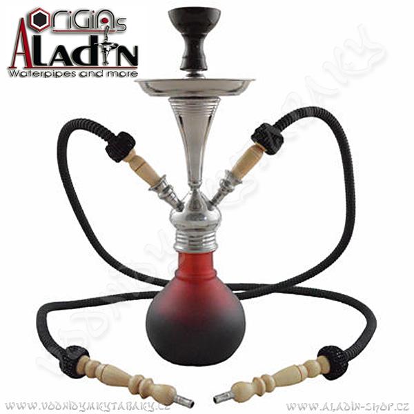 Vodní dýmka Aladin Numea II 48 cm červená